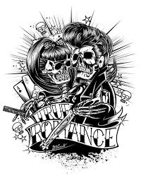 new school tattoo drawings black and white http www skin artists com davidvince htm rock and roll