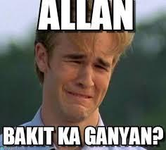 Allan Meme - allan 1990s first world problems meme on memegen