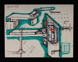 john hejduk bye house study c 1973 dm 1801 search drawings