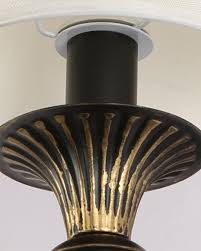 Metal Wall Sconces Modern Black Gold Painted Iron Wall Sconce With White Fabric Shade