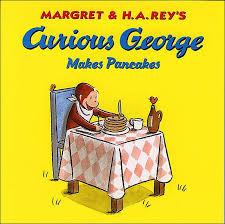 curious george pancakes curious george series rey