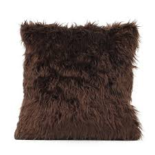 soft plush fur throw pillow cover home decor faux fur fleece 18