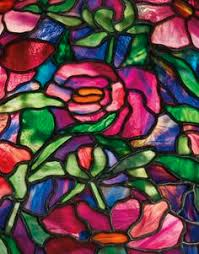 stained glass l bases tiffany peony border floor la lighting sotheby s