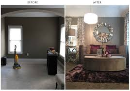 before and after interior design atlanta