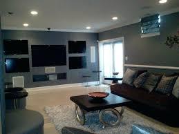 basement living room colors man cave lounge theme contemporary dc