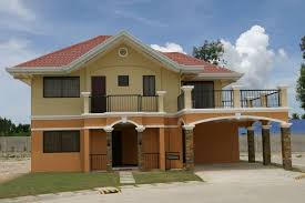 simple two storey house design 2 storey simple house design in philippines youtube