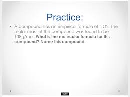 Calculating Molar Mass Worksheet Showme Molecular And Empirical Formula
