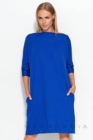 rochii casual rochie casual cu buzunare albastra rochii de ocazie