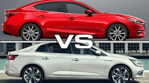 mazda sedan cars 2017 mazda 3 sedan vs 2017 renault megane sedan youtube