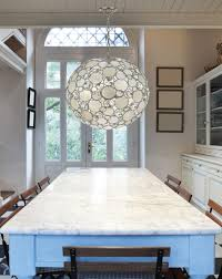 Dining Room Light Fittings Lighting Beautiful Capiz Shell Chandelier For Home Lighting Ideas