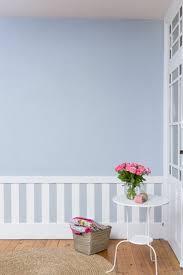 chambre avec papier peint deco soubassement dans chambre avec papier peint et peinture bleu