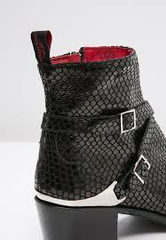 mens black biker style boots buy jeffery west shoes uk jeffery west manero cowboy biker