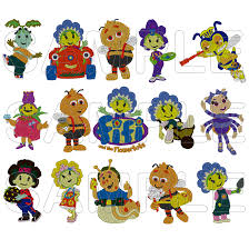 fifi u0026 flowertots cartoon embroidery group