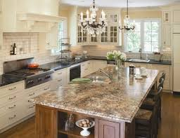 granite islands kitchen granite kitchen islands here s an large rectangular g