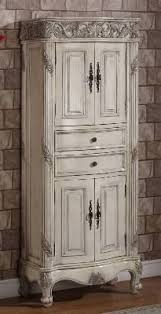 Bathroom Vanity And Linen Cabinet by Title Lorana Linen Cabinet Antique White Linen Cabinet