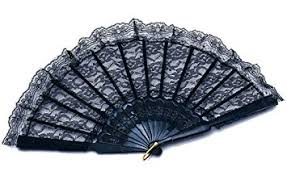 lace fan black lace fan fancy dress moulan