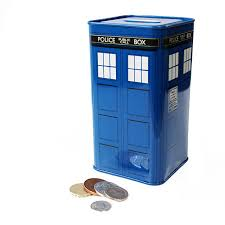 money box doctor who money box tardis 50th anniversary