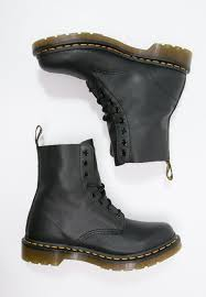 zalando womens boots uk dr martens pascal lace up boots black zalando co uk