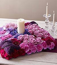 candle arrangements send candle arrangements with flowers ftd