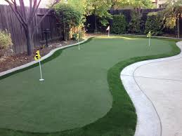 diy backyard putting green outdoor goods