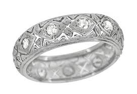 wide wedding bands filigree wedding bands filigree wedding rings for women
