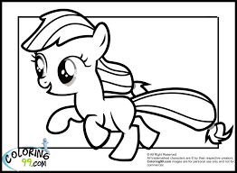 my little pony coloring pages baby rarity