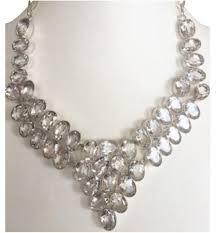 necklace elegant images White elegant royal topaz 925 sterling silver statement necklace jpg