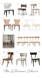 modern klismos chair modern klismos chairs klismos pinterest modern room and