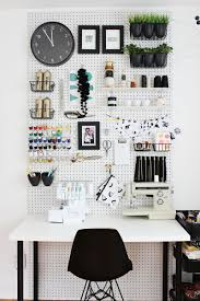inspiration board for my sewing room office spaces organizing