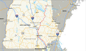New Hampshire State Map by New Hampshire Route 28 Wikipedia