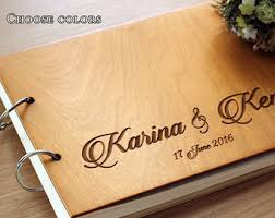 engravable wedding guest book view wedding guest book by woodenengravedshop on etsy