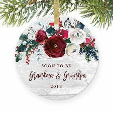 amazon com pregnancy announcement ornament christmas ornament