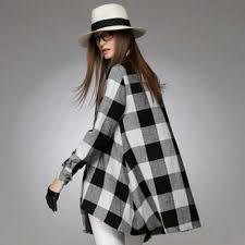 Black And White Plaid Shirt Womens Black And White Plaid Shirt For Women Oversized Loose