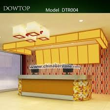 Wood Reception Desk by Good Quality Fast Food Wood Reception Desk Design Buy Wood