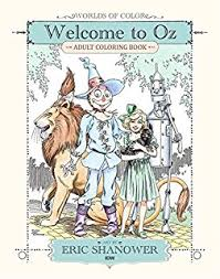 amazon coloring books grownups wizard oz vintage