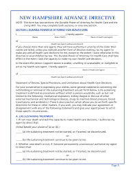 advance directive form west virginia living will form advance