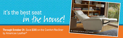 on sale comfort recliners from american leather fairhaven furniture