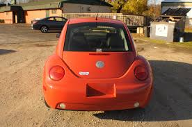 volkswagen fox 2006 2006 volkswagen beetle orange hatchback coupe sale