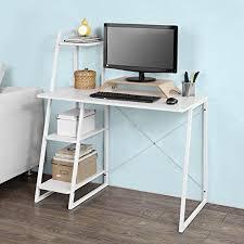 petit bureau de travail petit bureau blanc amazon fr