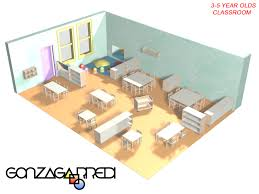 montessori classroom design cad and layout services