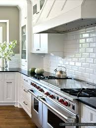kitchens with subway tile backsplash white subway tile backsplash kitchen white beveled subway tile