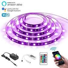 nexlux led light strip led strip lights nexlux wifi wireless smart phone controlled light