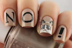 Nail Art Meme - brilliant and bizarre nail art inspired by internet memes flavorwire
