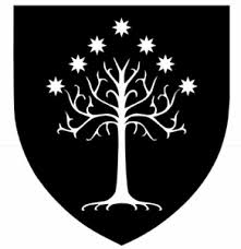 lotr tree of gondor crest decal sticker choose color die cut vinyl