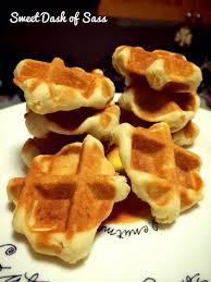 vanilla waffle cookies