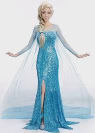 Elsa Halloween Costumes Disney Princess Dresses Adults Naf Dresses