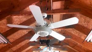 emerson derby ceiling fan in appliance gloss with halogen