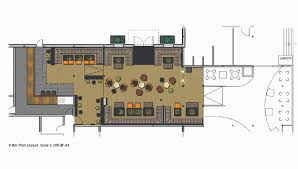 v bar floor plan nouse