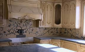 indoor kitchen mosaic backsplash tile mural creative arts
