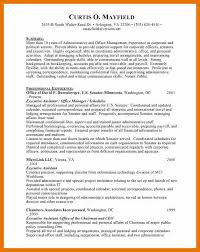 sample personal assistant resume sample resume admin executive